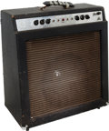 Musical Instruments:Amplifiers, PA, & Effects, 1966 Ampeg Gemini VI GS-15-R Navy Blue Guitar Amplifier, Serial # 053857....