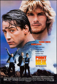 "Point Break & Other Lot (20th Century Fox, 1991). One Sheets (2) (27"" X 40"", 26.75"" X 39.75"") DS..."