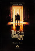 """Movie Posters:Crime, The Godfather Part III (Paramount, 1990). One Sheets (2) (27"""" X 40"""", 27"""" X 40.25"""") DS Advance & SS Regular. Crime.. ... (Total: 2 Items)"""