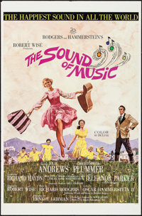 "The Sound of Music (20th Century Fox, 1965). International One Sheet (27"" X 41.25""). Academy Award Winners..."