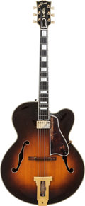 Musical Instruments:Electric Guitars, 1952 Gibson L5C Sunburst Archtop Electric Guitar, Serial # A11165,Weight: 7 lbs....