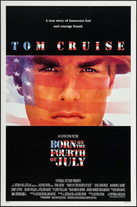 "Born on the Fourth of July & Other Lot (Universal, 1989). One Sheets (2) (27"" X 41""). War. ... (Total: 2 I..."