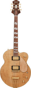 Musical Instruments:Electric Guitars, 1990's Flanders Natural Solid Body Electric Guitar, Weight: 7.7lbs....