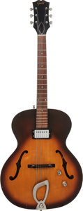 Musical Instruments:Electric Guitars, 1960 Guild T-50 Sunburst Archtop Electric Guitar, Serial # 14361,Weight: 6.8 lbs....