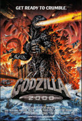 "Movie Posters:Science Fiction, Godzilla 2000 (Tri-Star, 2000). International One Sheet (27"" X39.75""). Science Fiction.. ..."