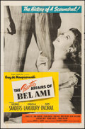 """Movie Posters:Drama, The Private Affairs of Bel Ami (United Artists, 1947). One Sheet (27"""" X 41""""). Drama.. ..."""