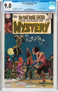 Bronze Age (1970-1979):Horror, House of Mystery #186 (DC, 1970) CGC VF/NM 9.0 Off-white to whitepages....