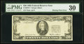 Error Notes:Missing Third Printing, Fr. 2075-? $20 1985 Federal Reserve Note. PMG Very Fine 30.. ...