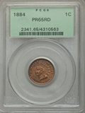 Proof Indian Cents: , 1884 1C PR65 Red PCGS. PCGS Population (48/44). NGC Census: (24/18). Mintage: 3,942. Numismedia Wsl. Price for problem free...