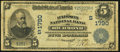 National Bank Notes:Kentucky, Richmond, KY - $5 1902 Date Back Fr. 593 The Madison NB Ch. #(S)1790. ...