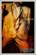 """Movie Posters:Rock and Roll, Stop Making Sense (Island Alive, 1984). One Sheet (27"""" X 41"""")Yellow Style. Rock and Roll.. ..."""