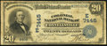 National Bank Notes:Pennsylvania, Connellsville, PA - $20 1902 Date Back Fr. 642 The Colonial NB Ch. # (E)7445. ...