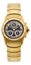 Estate Jewelry:Watches, Cartier Lady's Gold Cougar Chronograph Watch. ...