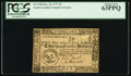 Colonial Notes:South Carolina, South Carolina December 23, 1777 (erroneously dated) $2 PCGS ChoiceNew 63PPQ.. ...