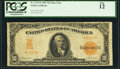 Large Size:Gold Certificates, Fr. 1172* $10 1907 Gold Certificate Star Note PCGS Fine 12.. ...