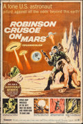 "Movie Posters:Science Fiction, Robinson Crusoe on Mars (Paramount, 1964). Poster (40"" X 60"").Science Fiction.. ..."
