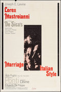 """Movie Posters:Foreign, Marriage Italian-Style & Others Lot (Embassy, 1964). Poster (40"""" X 60""""), Half Sheet (22"""" X 28"""") & Window Card (14"""" X 22""""). F... (Total: 3 Items)"""