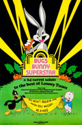 Animation Art:Poster, Bugs Bunny Superstar Print (Warner Brothers, 1976)....