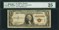 Small Size:World War II Emergency Notes, Fr. 2300* $1 1935A Hawaii Silver Certificate. PMG Very Fine 25.. ...