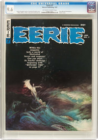 Eerie #7 (Warren, 1967) CGC NM+ 9.6 Off-white to white pages