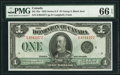 Canadian Currency: , Canada Dominion of Canada DC-25o $1 1923.. ...