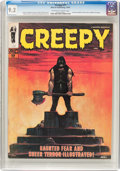 Magazines:Horror, Creepy #17 (Warren, 1967) CGC NM- 9.2 Off-white to white pages....
