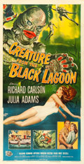 "Movie Posters:Horror, Creature from the Black Lagoon (Universal International, 1954). Three Sheet (41.5"" X 80"").. ..."