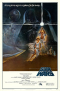 "Movie Posters:Science Fiction, Star Wars (20th Century Fox, 1977). First Printing One Sheet (27"" X41"") Style A.. ..."