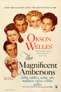 "Movie Posters:Drama, The Magnificent Ambersons (RKO, 1942). One Sheet (27"" X 41"").. ..."