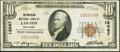 National Bank Notes:Oklahoma, Lawton, OK - $10 1929 Ty. 1 The American NB Ch. # 12067. ...