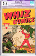 Golden Age (1938-1955):Superhero, Whiz Comics #3 (#2) (Fawcett Publications, 1940) CGC Apparent FN+6.5 Slight/Moderate (B-2) Off-white to white pages....