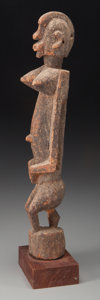 Tribal Art, DOGON, Mali. Seated Female Figure...