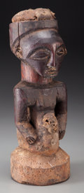 Tribal Art, SONGYE, Democratic Republic of Congo. Divination Implement...