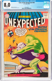 Tales of the Unexpected #40 (DC, 1959) CGC VF 8.0 White pages