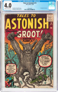 Silver Age (1956-1969):Science Fiction, Tales to Astonish #13 (Marvel, 1960) CGC VG 4.0 Cream to off-whitepages....