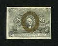 """Fractional Currency:Second Issue, Fr. 1285 25c Second Issue Choice New. A lovely example of this scarcer variety with """"A-18-63"""" surcharges, which are remarkab..."""