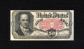 Fractional Currency:Fifth Issue, Fr. 1381 50c Fifth Issue Choice New. A crisp and generally wellmargined Crawford note that has great color and original emb...
