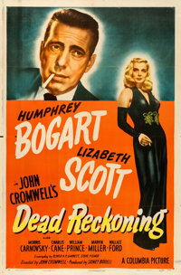 "Dead Reckoning (Columbia, 1947). One Sheet (27"" X 41"") Style A. From the collection of William E. Rea"
