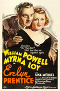 "Movie Posters:Mystery, Evelyn Prentice (MGM, 1934). One Sheet (27"" X 41"") Style D. Fromthe collection of William E. Rea.. ..."