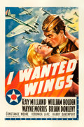 "Movie Posters:War, I Wanted Wings (Paramount, 1941). One Sheet (27"" X 41"") Style A.From the collection of William E. Rea.. ..."