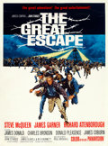 "Movie Posters:War, The Great Escape (United Artists, 1963). One Sheet (28"" X 38"")Glossy Style.. ..."
