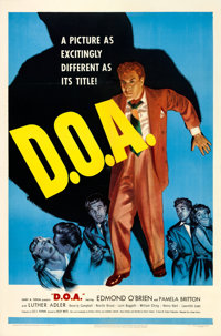 """D.O.A. (United Artists, 1950). One Sheet (27"""" X 41""""). From the collection of William E. Rea"""