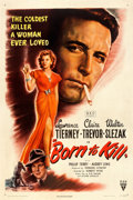 "Movie Posters:Film Noir, Born to Kill (RKO, 1946). One Sheet (27"" X 41""). From thecollection of William E. Rea.. ..."