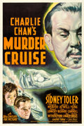 "Movie Posters:Mystery, Charlie Chan's Murder Cruise (20th Century Fox, 1940). One Sheet (27"" X 41""). From the collection of William E. Rea.. ..."