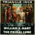 "Movie Posters:Drama, The Primal Lure (Triangle, 1916). Flat Folded Six Sheet (80"" X81"").. ..."