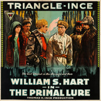 "The Primal Lure (Triangle, 1916). Flat Folded Six Sheet (80"" X 81"")"