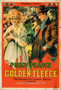 "Movie Posters:Drama, Golden Fleece (Triangle, 1918). One Sheet (27"" X 41"").. ..."