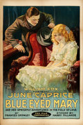 "Movie Posters:Drama, Blue-Eyed Mary (Fox, 1918). One Sheet (28"" X 42"").. ..."