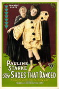 "Movie Posters:Drama, The Shoes That Danced (Triangle, 1918). One Sheet (28"" X 41"").. ..."