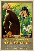 "Movie Posters:Comedy, Madcap Madge (Triangle Kay-Bee, 1917). One Sheet (27.5"" X 41"")....."